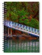 Floating Dock Spiral Notebook