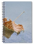 Floating Down Lifes Path 2 Spiral Notebook