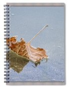 Floating Down Lifes Path Spiral Notebook
