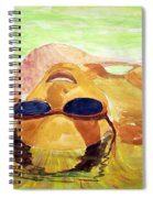 Floating In Water Spiral Notebook