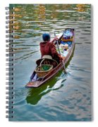 Floating Market Spiral Notebook