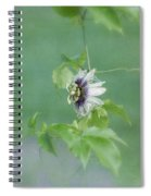 Floating Passion Spiral Notebook