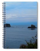 Floating Rocks Spiral Notebook