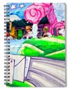 Floating Thru Mardi Gras 4 Spiral Notebook