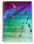 Flock Of Seagulls Spiral Notebook