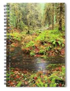 Flood In The Forest Spiral Notebook