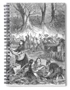 Flood Of Fish, 1867 Spiral Notebook