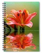 Flooded Lily Spiral Notebook