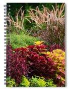 Flora 9 Spiral Notebook