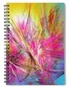 Flora Splendor Beneath The Sun Spiral Notebook