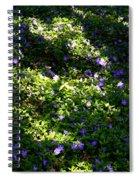 Floral Carpet Spiral Notebook