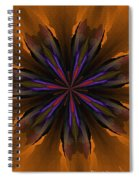 Floral Dream 090412 Spiral Notebook