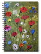 Floral Fields Spiral Notebook