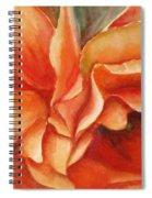 Floral Flash Spiral Notebook