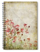 Floral Pattern Spiral Notebook