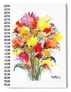 Floral Seven Spiral Notebook
