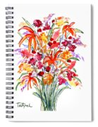 Floral Six Spiral Notebook