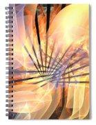 Floral Supernova Spiral Notebook