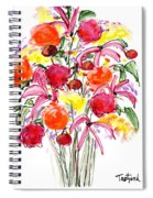 Floral Thirteen Spiral Notebook