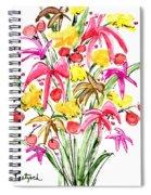Floral Twelve Spiral Notebook