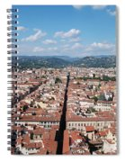 Florence From The Duomo Spiral Notebook