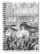 Florence: Horse Race, 1857 Spiral Notebook