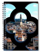 Florence Through A Unique Lens Spiral Notebook