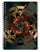 Florentine Colonnade Star Spiral Notebook