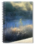 Florida Frosty Morning Spiral Notebook