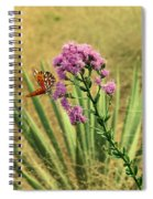 Florida Paintbrush Spiral Notebook