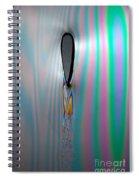 Flow Testing Air Foil Spiral Notebook