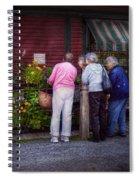 Flower - The Garden Club  Spiral Notebook