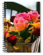 Flower 34 Spiral Notebook