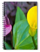 Flower 4 Spiral Notebook