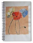 Flower And Bud Spiral Notebook