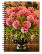 Flower Arrangement Chateau Chenonceau Spiral Notebook