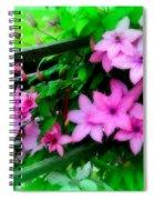 Flower Bouquets Spiral Notebook