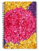 Flower Carpet Spiral Notebook
