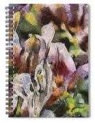 Flower Full Of Color Spiral Notebook
