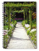 Flower Garden - Digital Painting Spiral Notebook