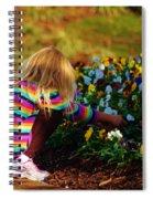 Flower Girl Spiral Notebook