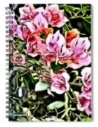 Flower Painting 0003 Spiral Notebook
