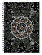 Flower Planet And Other Planets Pop Art Spiral Notebook