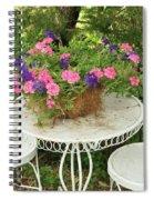 Flower Pot 4 Spiral Notebook
