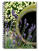 Flower Pot 5 Spiral Notebook