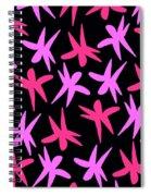 Flower Stars  Spiral Notebook