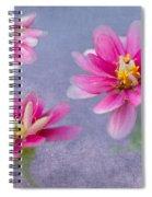 Flower Triplets Spiral Notebook