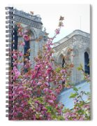 Flowering Notre Dame Spiral Notebook