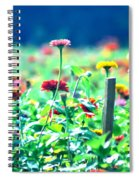 Flowers Everywhere Spiral Notebook