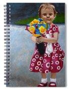 Flowers For Mum Spiral Notebook